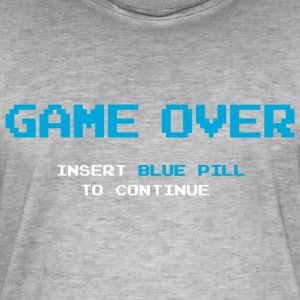 Game Over - Vintage-T-shirt herr
