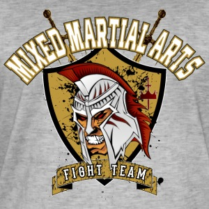 MMA Fight Team T-shirt / te - Herre vintage T-shirt