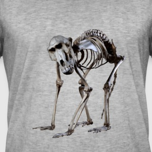 Een baviaanskelet door Wild World Designs (WWD) - Mannen Vintage T-shirt