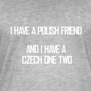 czech_one_two - T-shirt vintage Homme