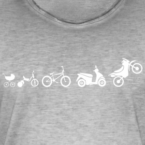 motorcycle evolution - Men's Vintage T-Shirt