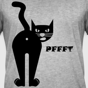 Black cat pupst - Men's Vintage T-Shirt