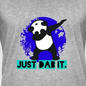 panda dab dabbing touchdown just satire krass lol - Männer Vintage T-Shirt