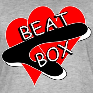 BEAT BOX! - Herre vintage T-shirt