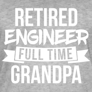 Full time Grandpa - Männer Vintage T-Shirt