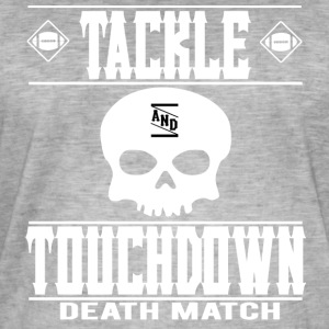 FOOTBALL ATTAQUER Touchdown Deathmatch - T-shirt vintage Homme