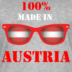 100% MADE IN AUSTRIA - Männer Vintage T-Shirt