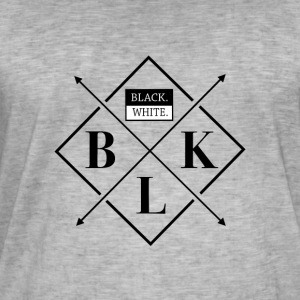 Black White - Men's Vintage T-Shirt