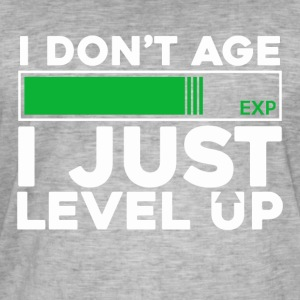 level Up - Mannen Vintage T-shirt