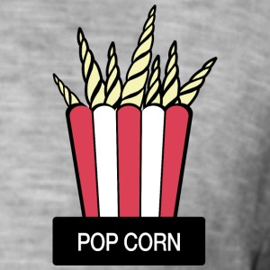 POP CORN - T-shirt vintage Homme