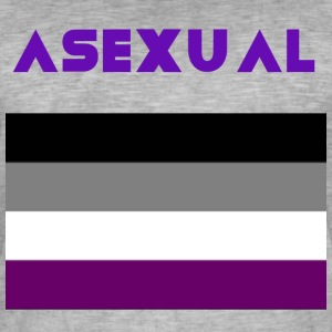 ASEXUÉ - T-shirt vintage Homme