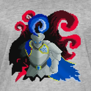 Pixel knight - T-shirt vintage Homme