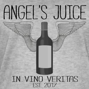 ANGEL S JUICE - in vino veritas - Men's Vintage T-Shirt