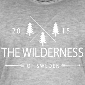 The Wilderness Of Sweden - Men's Vintage T-Shirt