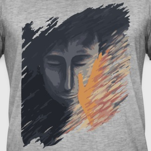Warming hand - Men's Vintage T-Shirt