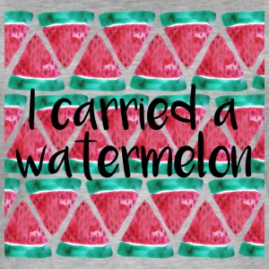 I carried a watermelon - Männer Vintage T-Shirt