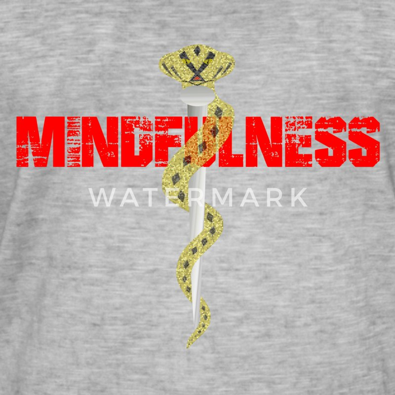 mindfulness - Men's Vintage T-Shirt
