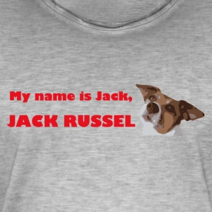 My name is jack2 red - Men's Vintage T-Shirt
