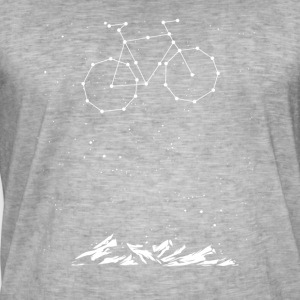 Bike Constellation - Vintage-T-shirt herr