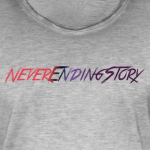 Neverending Story shirt - Mannen Vintage T-shirt