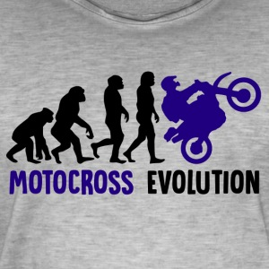 ++Motocross Evolution++ - Männer Vintage T-Shirt