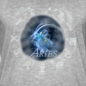 aries Capricorn zodiac sign horoscope image - Men's Vintage T-Shirt
