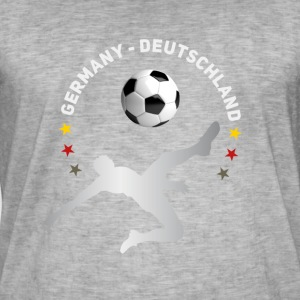 Football fall crushers goal Germany champion tea - Men's Vintage T-Shirt