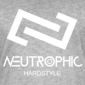 Neutrophic Hardstyle - Vintage-T-skjorte for menn