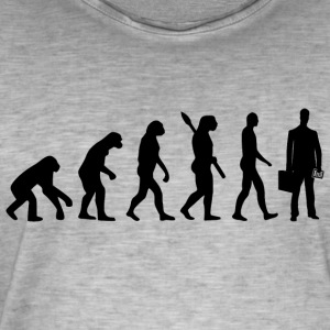 Evolution accountant accountant accountant bl - Men's Vintage T-Shirt