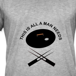 Grillsession for men - Männer Vintage T-Shirt