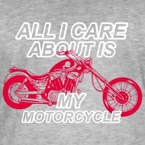 Motorcycle lovers hobby - Men's Vintage T-Shirt