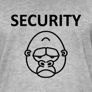 Shirt Security Gorila - Men's Vintage T-Shirt