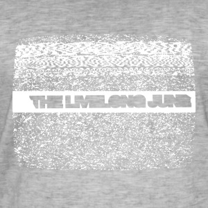 The Livelong June - Logo on white noise - Vintage-T-shirt herr