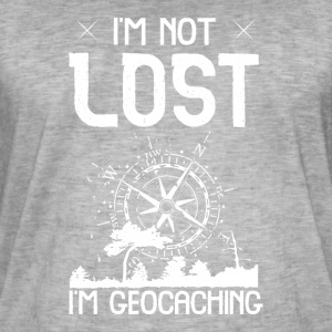 I'm Not Lost I'm Geocaching - Men's Vintage T-Shirt