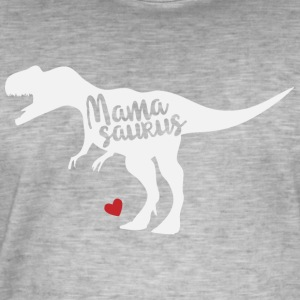 Mothers Day gift Mamasaurus - Men's Vintage T-Shirt