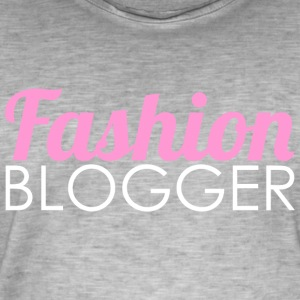 Fashion Blogger - Vintage-T-skjorte for menn