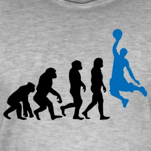 ++ Basketball Slam Dunk Evolution ++ - T-shirt vintage Homme