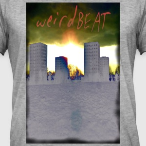 weirdbeat - Vintage-T-skjorte for menn