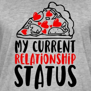My current relationship status - Männer Vintage T-Shirt