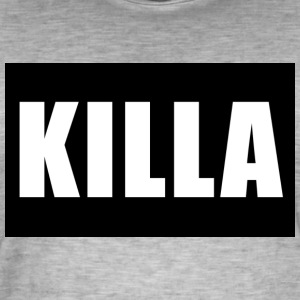 KILLA brand - Men's Vintage T-Shirt