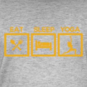 ! Eat Sleep Yoga - Cycle! - Men's Vintage T-Shirt
