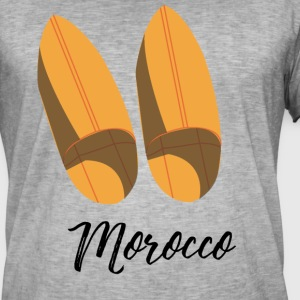 Moroccan traditional shoes - Men's Vintage T-Shirt