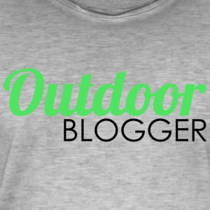Outdoor Blogger - Männer Vintage T-Shirt
