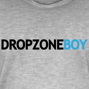 dropzoneBoy - Men's Vintage T-Shirt