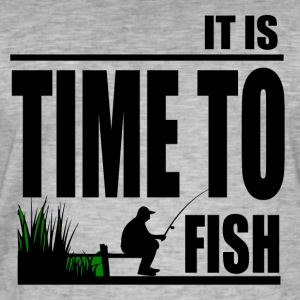 Time to Fish - Fishing - Men's Vintage T-Shirt