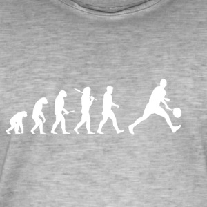 Evolution Tennis! lustig! - Männer Vintage T-Shirt