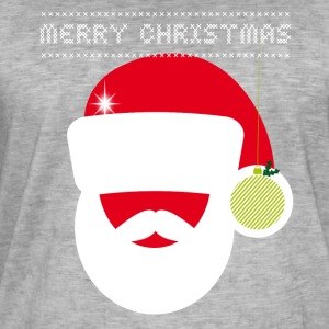 Christmas market large knitting irony Retro Party fun - Men's Vintage T-Shirt