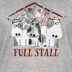 Full Stall - Men's Vintage T-Shirt