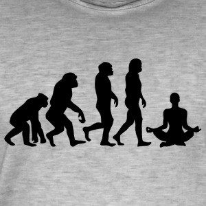 ++ ++ YOGA EVOLUTION - T-shirt vintage Homme