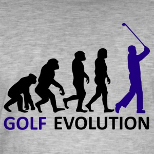 ++ ++ Golf Evolution - Vintage-T-shirt herr